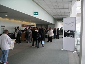 Southern California Linux Expo - Image: SCALE3x