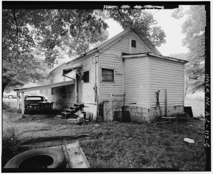 File:SHOT GUN HOUSE, EXTERIOR SOUTH. - 355 Third Street (House), Thomas, Jefferson County, AL HAER ALA,37-THOS,5-6.tif