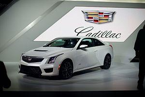 Cadillac ATS - Cadillac ATS-V Coupe
