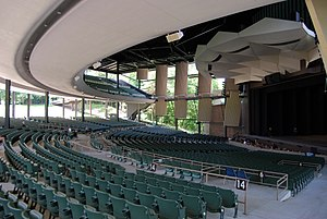 Saratoga Performing Arts Center - Interior of SPAC