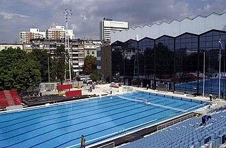 Tašmajdan Sports and Recreation Center - Image: SRC Tasmajdan