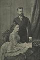 SS.AA. o Príncipe Leopoldo de Hohenzollern e a Princesa D. Antónia, Infanta de Portugal (photographia de Gebr Taeschler) - O Ocidente (30Jun1905).png