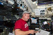 STS-134 EVA1 choreographer Michael Fincke