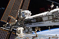 STS-134 the starboard truss of the ISS with the newly-installed AMS-02.jpg