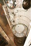 STS-98 U.S. Lab Destiny rests in Atlantis' payload bay (KSC-01PP-0107).jpg