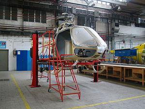 PZL SW-4 - SW-4 under construction, 2011