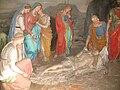 Sacro Monte di Varallo-Cappella XLI-Gesù deposto nella Sindone.JPG