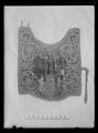 Sadeltäcke till handhäst ur Ludvig XIVs gåva till Karl XI 1673, den s.k. franska gåvan - Livrustkammaren - 9184.tif
