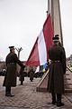 Saeimas priekšsēdētāja piedalās Lietuvas neatkarības atjaunošanas 25.gadadienas pasākumos (16577747667).jpg