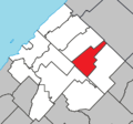Saint-Médard Quebec location diagram.png