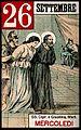 Saint Cyprian and Saint Justina. Colour photogravure, 1898. Wellcome V0048152.jpg