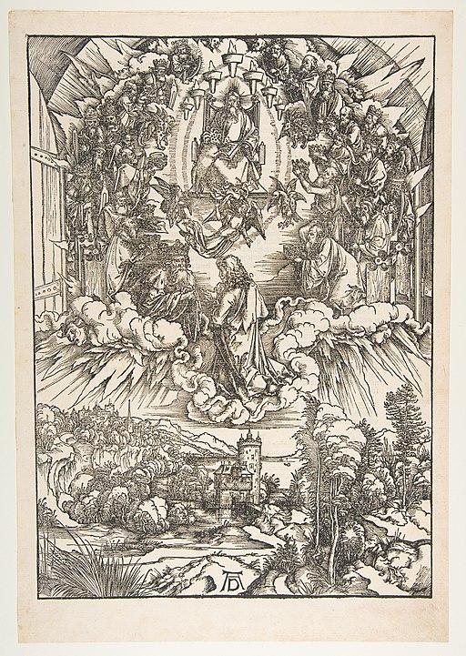 Saint John Before God and the Elders, from The Apocalypse MET DP816734