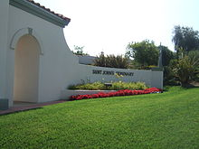 Saint Johns Seminary Camarillo road faci8ng.JPG