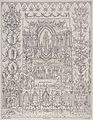 Saint Mary (the Blessed Virgin). Lithograph by C. van Schrau Wellcome V0033700.jpg