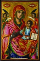 Saint Mary Icon from Sts Peter and Paul Church in Kula by Dicho Krastev, 1863.jpg