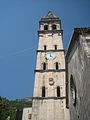 Saint Nicholas' Church belfry, Perast.jpg