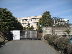 Saitama Prefectural,Shobu High School 1.JPG