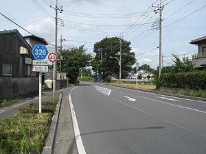 埼玉県道・千葉県道326号川藤野田線's relation image