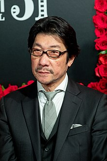 "Sakamoto Junji from ""Another World"" at Opening Ceremony of the Tokyo International Film Festival 2018 (30678419487).jpg"