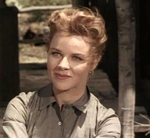 Sally Forrest - Forrest in Vengeance Valley, 1951