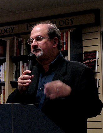 Salman Rushdie - Salman Rushdie presenting his book Shalimar the Clown