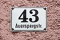 Salzburg - Neustadt - Auerspergstraße 43 - 2017 10 10 - Schild-1.jpg