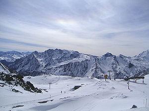 Samnaun - Ski area of Samnaun