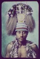 Samoan Chief - head and shoulders, wearing ceremonial headdress LCCN2004707892.tif
