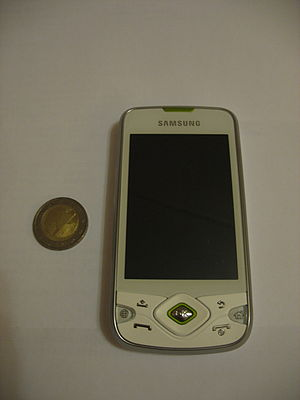 Samsung Galaxy Spica - In white