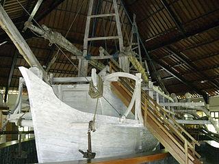 Samudra Raksa Museum Maritime museum, Archaeology museum in Central Java, Indonesia
