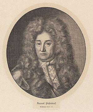 Pufendorf, Samuel, Freiherr von (1632-1694)