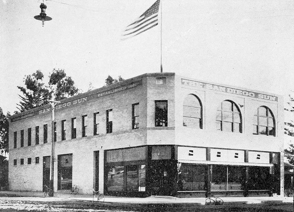San Diego Sun newspaper building (1908)