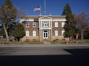 Das San Juan County Courthouse in Monticello