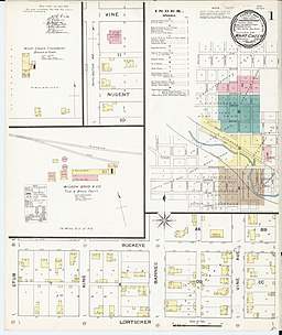 Sanborn Fire Insurance Map from What Cheer, Keokuk County, Iowa. LOC sanborn02871 002-1