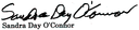 Sandra Day O'Connor's signature