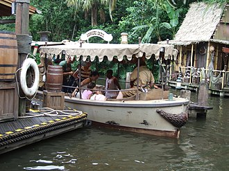 Jungle Cruise - The Sankuru Sadie is the only boat in the Magic Kingdom's fleet to have ever sunk.