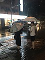 Sanmin Road, Songshan, Taipei at Rainy Night 20170603.jpg