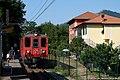 Sant'Olcese - stazione ferroviaria di Pino - elettromotrice A9.jpg