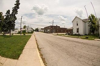 Saratoga, Indiana - Image: Saratoga, Indiana