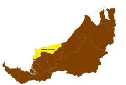 Location of Mukah Division