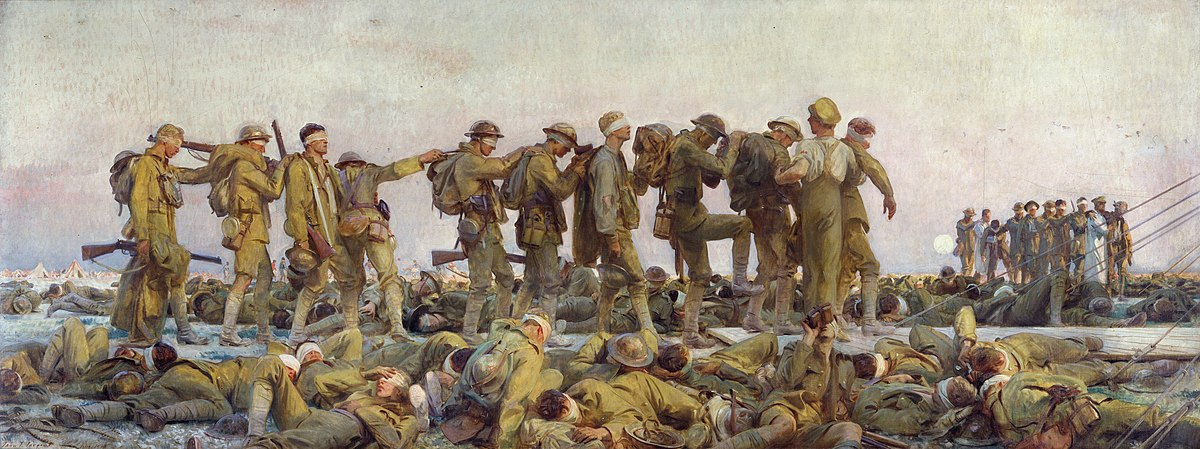 Image result for gassed john singer sargent
