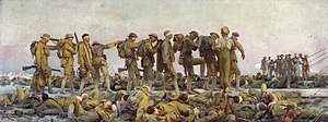1919 in art - John Singer Sargent - Gassed
