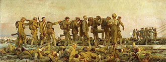 Hall of Remembrance - Image: Sargent, John Singer (RA) Gassed Google Art Project