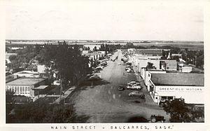 Balcarres, Saskatchewan - Historical view of Balcarres