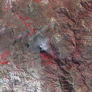 Wilani mountain in Peru