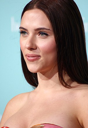 Scarlett Johansson at the film premiere of He'...