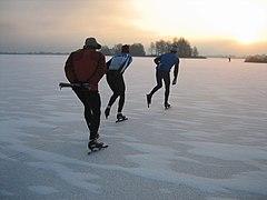 Schaatsen Loosdrecht 7 januari 2009.jpg