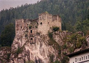 Schachenstein Castle - Image: Schachen 1
