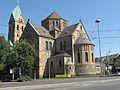 Schalke, Sankt Georgskirche in straatzicht foto2 2012-08-19 11.31.jpg