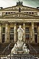 Schauspielhaus mit Schillerdenkmal von Begas.jpg